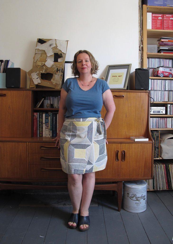 Yellow Boxes Skirt