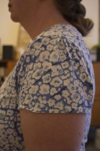 Sleeve detail